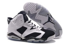 hot sale online 61f36 99c6f ... basketball sko menn svart rød hvit d1fe9 a5aeb  store buy air jordan  retro 6 white black size online shop super deals from reliable air