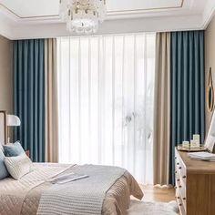 Living Room Decor Curtains, Living Room Decor On A Budget, Home Design Living Room, Home Curtains, Room Decor Bedroom, Custom Curtains, Curtain Designs For Bedroom, Luxury Curtains, Modern Curtains