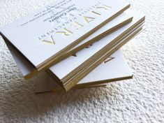 Letterpress Business Cards, Embossed Business Cards