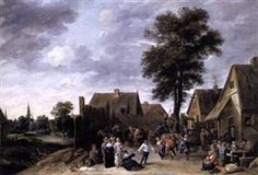 The Kermess at the Half Moon Inn - David Teniers the Younger