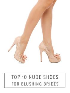 Top 10 Nude Wedding Shoes | Bridal Musings Wedding Blog
