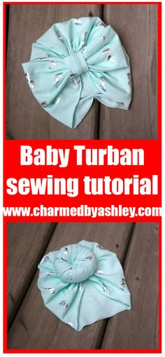 free newborn turban hat pattern and tutorial Accessories a Bun or a Bow to top it off