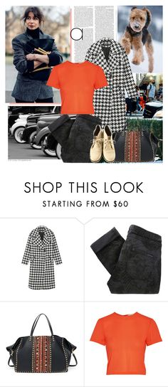 """""""Go Outside, Take The Dog"""" by africagirls ❤ liked on Polyvore featuring Olsen, Columbia, Maison Scotch, Valentino, Alice + Olivia, Brunello Cucinelli, women's clothing, women, female and woman"""