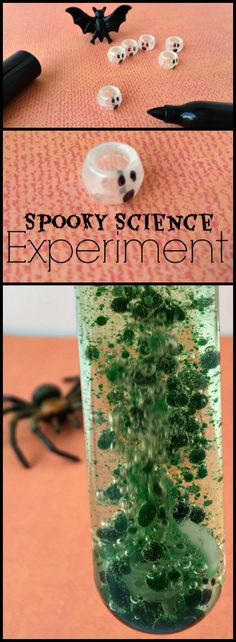Spooky Science Experiment your Kids will Love for halloween.