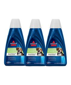 Another great find on #zulily! Pet Stain & Odor Formula for Portable Spot Cleaner - Set of Three by BISSELL #zulilyfinds