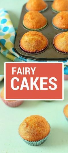 30 minutes Fairy Cakes without butter { Video} Cupcake Recipe Without Butter, Cakes Without Butter, Butter Cupcakes, Baking Cupcakes, Yummy Cupcakes, Cupcake Recipes, Baking Recipes, Cupcake Cakes, Dessert Recipes