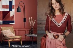 FW21/22 Color Inspiration: RED JASPER Red Jasper, Color Combinations, Color Schemes, Fashion Colours, Color Inspiration, Knit Crochet, Pattern, Color Palettes, Creative