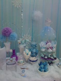Frozen Birthday Party Ideas!  See more party ideas at CatchMyParty.com!
