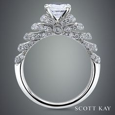 One of our favorite Scott Kay rings. Even more beautiful in person!