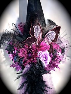 Aurora 's Witch Hat Halloween Costumes Plum & by Marcellefinery, $88.00