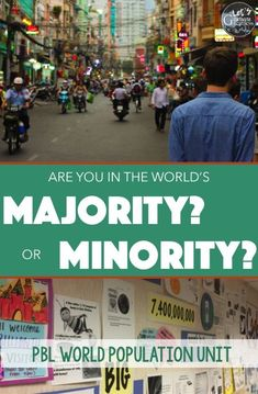 Explore the simple yet also complex issue of our world's growing population by examining just how big 7 billion and growing is, extreme poverty, cultural, material, and nutritional differences, and culminating with a DBQ essay and 3 embedded projects. Perfect for your middle or high school geography and global issues class!