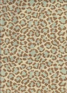 Cosi Aqua-cheetah pattern