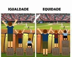 igualdade x equidade