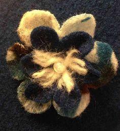 Woolen Pinafore Dress