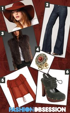 1970s fashion looks | February? Take a journey back to the 1970's and update your style ...