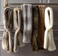 Luxe Faux Fur Scarf