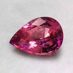 Premium Pink Pear Sapphire