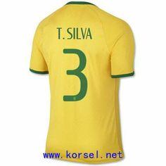 Maillot de foot Bresil Domicile Coupe du monde 2014 (3 T.Silva) Jaune Pas Cher http://www.korsel.net/maillot-de-foot-bresil-domicile-coupe-du-monde-2014-3-tsilva-jaune-pas-cher-p-3243.html