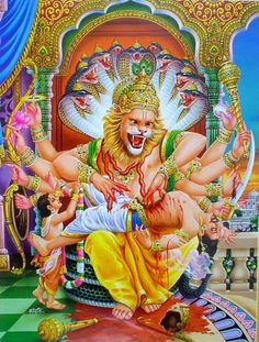 Lord Narsingha, Lord Vishnu's reincarnation