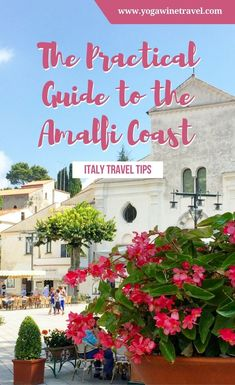 Yogawinetravel.com: Wondering how to plan your perfect trip to the Amalfi Coast? Read on for the ultimate Amalfi Coast travel guide including how to get there from Rome, Naples, Sorrento or Salerno, things to do in the Amalfi Coast and the best Amalfi Coast accommodation options!