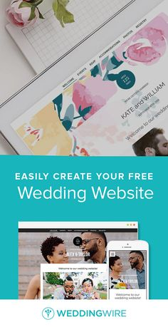 Create A Free Customizable Wedding Website Share Details About Accommodations Registry