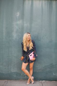 blush and camo, how to style, romper, fall transition outfit, style tips…