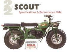 Off Road Green Verhicles Rokon Trail Breaker Motorcycle