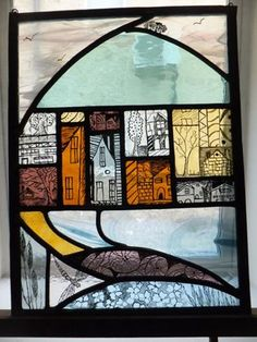Modern Stained Glass, Stained Glass Angel, Stained Glass Paint, Stained Glass Christmas, Stained Glass Projects, Fused Glass Art, Stained Glass Patterns, Stained Glass Windows, Mosaic Glass