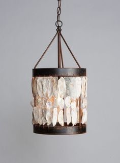 Brilliant Coastal Lighting - eclectic - pendant lighting - charlotte - Cottage and Bungalow Shell Lamp, Shell Chandelier, Coastal Chandelier, Coastal Lighting, Chandeliers, Cottage Lighting, Coastal Entryway, Coastal Rugs, Coastal Decor