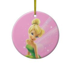 Tinker Bell  Pose 20 Christmas Ornaments