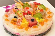 お寿司でできたケーキ?「お寿司ケーキ」賀寿セレモニー宿泊プラン発売