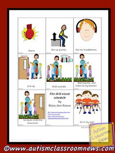 Visual Schedule Series: Guest Post by Mary Ann Reeve {and a freebie!} by Autism Classroom News: http://www.autismclassroomnews.com