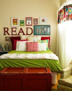 """""""READ"""" - for my future baby girl's room."""