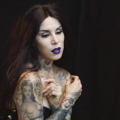 "72k Likes, 660 Comments - Kat Von D (@thekatvond) on Instagram: ""Man! Every time we have a photoshoot I'm quickly reminded how good it feels to have long hair…"""