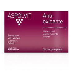 ASPOLVIT Anti-Aging Anti-Oxidante cápsulas.Es un complemento alimenticio antioxidante que permite retrasar los signos de envejecimiento, aporta energía y vitalidad neutralizando los radicales libres.  Tomar 1 cápsula diaria durante tres meses como mínimo. Se recomienda su uso durante todo el año.   www.interpharma.es  www.facebook.com/AspolvitAntiAging?fref=ts