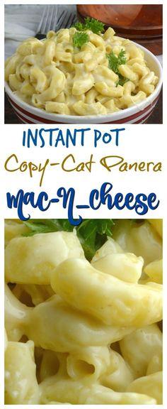 Instant pot Copy Cat panera-mac-n-cheese