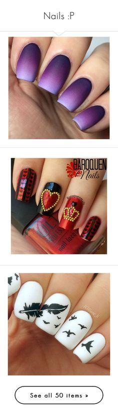 """""""Nails :P"""" by drummergirl95 ❤ liked on Polyvore featuring beauty products, nail care, nail polish, nails, makeup, beauty, unhas, sticker nail polish, shiny nail polish and nail treatments"""