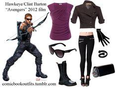 Avengers Inspired Fashion: Hawkeye