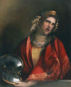 Dosso Dossi - Dido Crying over Aeneas. Tags: aeneid, dido, carthage, dido, aeneas, aineias,