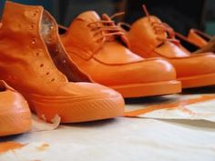 shoes tell your life story: where you've trodden and what style you did it in.