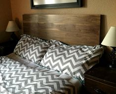 Modern Headboard in Walnut, Choose Size by CW Furniture Custom Handmade King Queen Full Twin Size Solid Hardwood Furniture, Modern Headboard, Furniture Plans, Inexpensive Furniture, Classic Furniture Design, Classic Furniture, Headboard, Furniture Design, Furniture Outlet