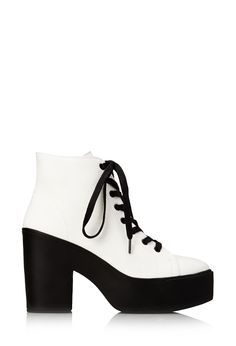Standout Canvas Booties | FOREVER21 #Platform #Booties