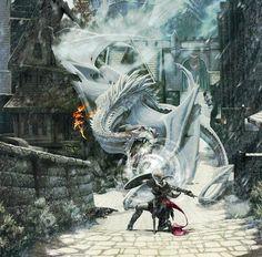 Si les dragons se mettent à exister d'un coup, je ne veux pas tomber sur celui la #FanArt par ghostfire #Dessin