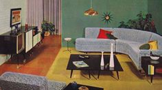 10 Essential Items — Mid-century Living Room