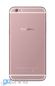 Interesante: Blackview Ultra Plus, un clon del iPhone 6S Plus de color oro rosa