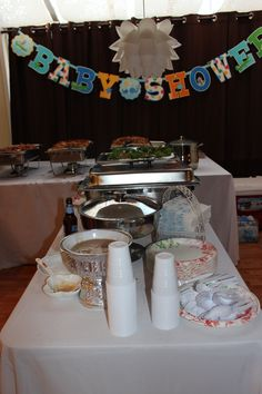 babyshower buffet