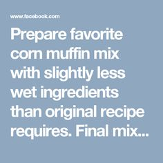 Prepare favorite corn muffin mix with slightly less wet ingredients than original recipe requires. Final mix should be slightly dryer than normal.  Mix bacon, favorite cheese, and green onion with the completed corn muffin mix.  Fill hollowed bell peppers 60% with muffin mix.  Place on grill with foil over indirect heat. Cook 20-25 minutes.  https://www.facebook.com/buzzfeedtasty/videos/vb.1614251518827491/1628652454054064/?type=2&theater