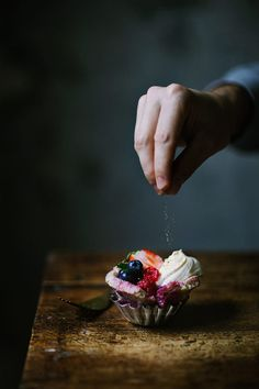 English berry pudding | Marta Greber