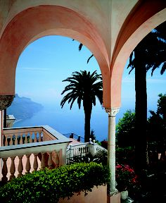 Palazzo Sasso, Ravello, Italy one of the top places in the world. Amalfi Coast Hotels, Amalfi Coast Italy, Sorrento Italy, Positano, Romantic Places, Beautiful Places, Beautiful Scenery, Beautiful Landscapes, Ancient Architecture