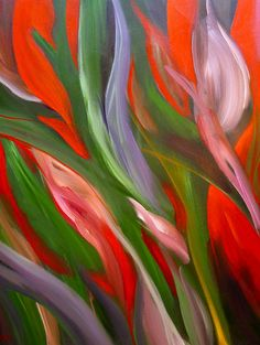 """Tulip Shapes"" 2011 by Marie Nagel - marienagel.com facebook.com/marienagelart"